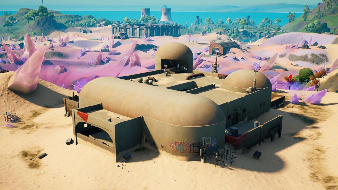 Вид в пустыне