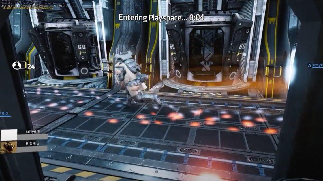 В ранней версии режима «Выживание» 24 пилота помещались в десантный корабль, на котором игроки формировали команды из трех человек — для этого нужно было подбежать к одной из капсул и войти в нее