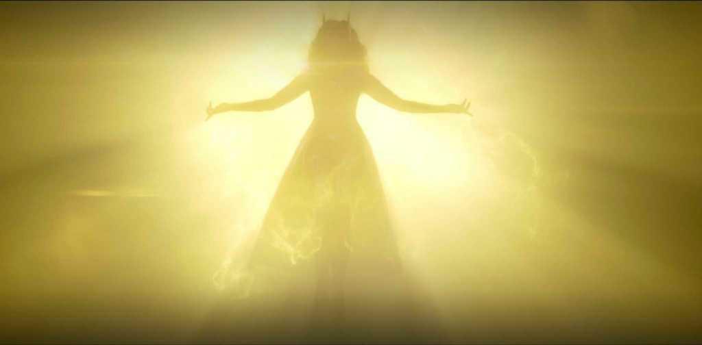 Алая Ведьма в видении Ванды